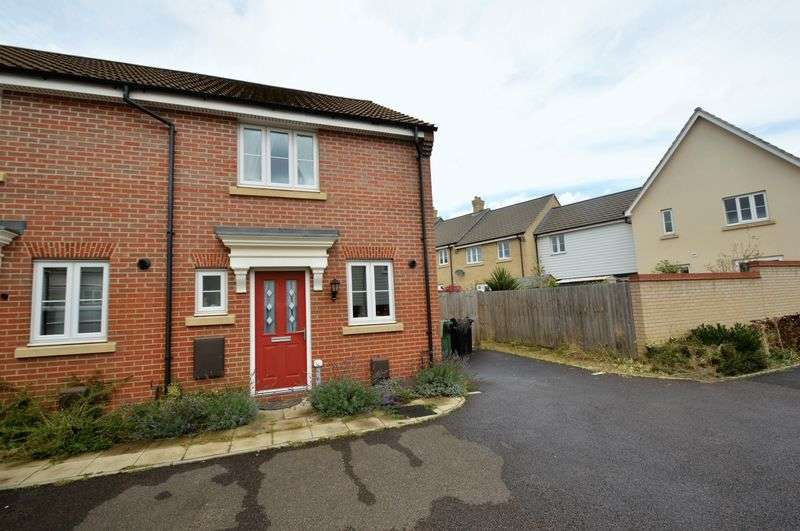 2 Bedrooms Terraced House for sale in Badger Road, Costessey