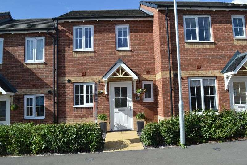 2 Bedrooms Semi Detached House for sale in Butterfly Gardens, Swadlincote