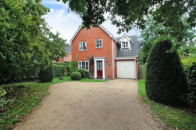 4 Bedrooms Detached House for sale in Norwich Road, Barnham Broom, Norwich