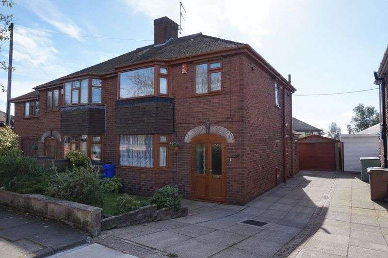 3 Bedrooms Semi Detached House for sale in Derek Drive, Sneyd Green, Stoke-On-Trent, ST1 6BY