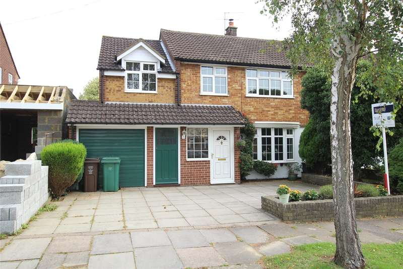 4 Bedrooms Semi Detached House for sale in Flinders Close, St. Albans, Hertfordshire, AL1