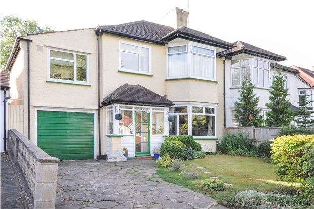 4 Bedrooms Semi Detached House for sale in Heathdene Road, WALLINGTON, Surrey, SM6 0TB