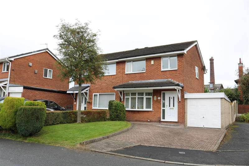 3 Bedrooms Semi Detached House for sale in Tetbury Drive, Bolton