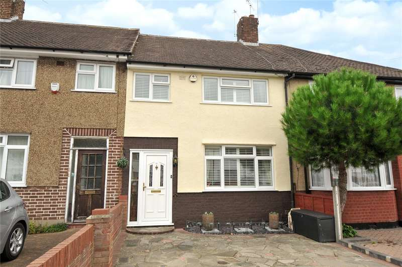 3 Bedrooms Terraced House for sale in Canfield Drive, South Ruislip, Middlesex, HA4