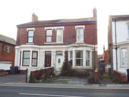 4 Bedrooms Semi Detached House for sale in Park Road, Blackpool, Lancashire, FY1