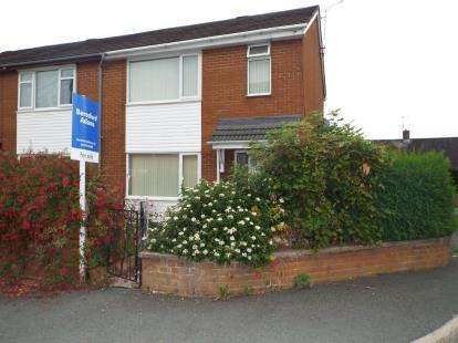 2 Bedrooms Semi Detached House for sale in Australia Street, Ponciau, Wrecsam, Wrexham, LL14