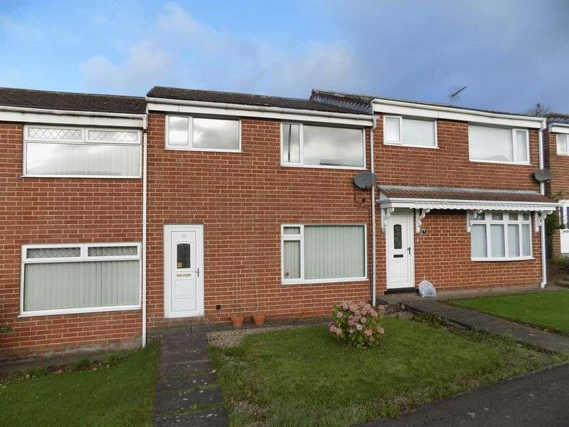 3 Bedrooms Terraced House for sale in Linden Close, Shildon