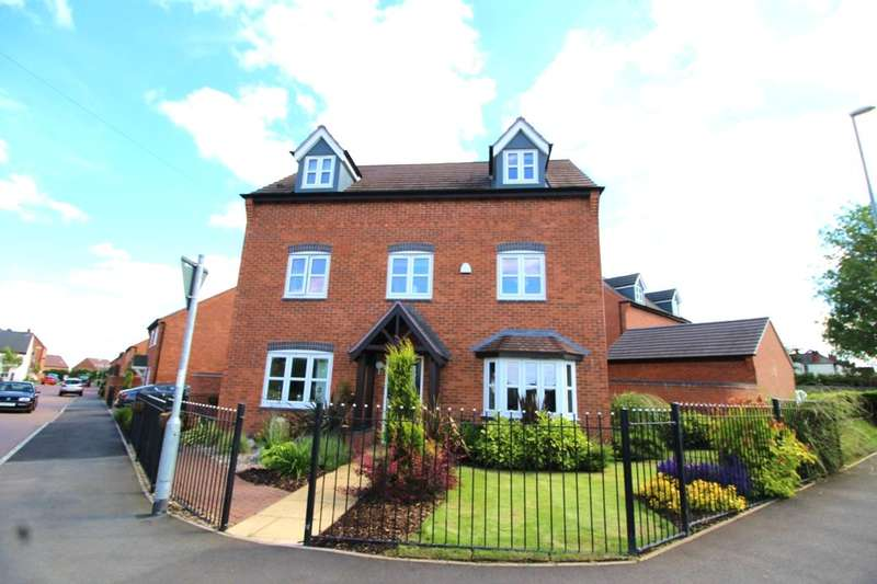 5 Bedrooms Detached House for sale in Olympic Way, Hinckley, LE10