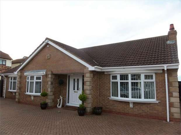 3 Bedrooms Detached Bungalow for sale in St Marks Road, Fishburn, Stockton-on-Tees, Durham