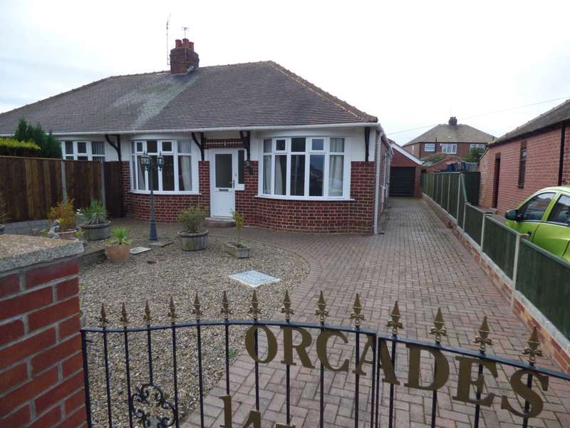 2 Bedrooms Semi Detached Bungalow for sale in Redcar Road, Marske By The Sea