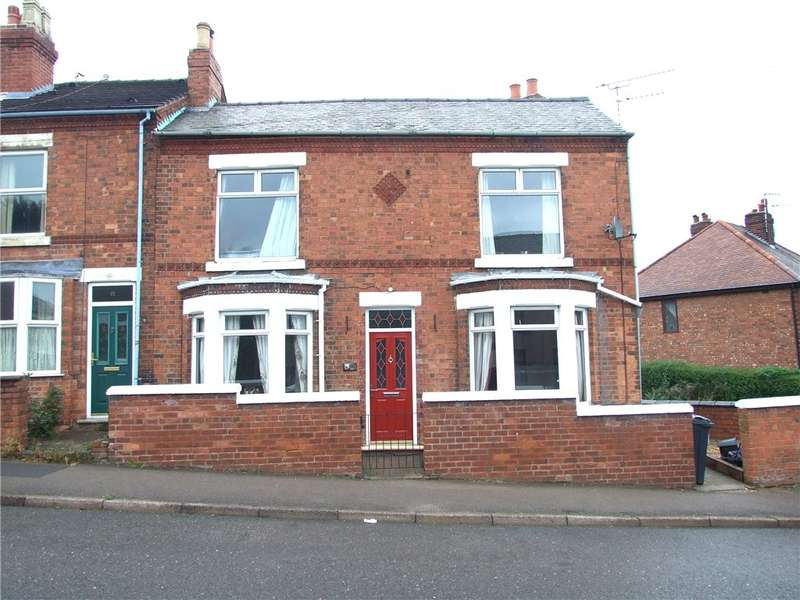 2 Bedrooms End Of Terrace House for sale in Hands Road, Heanor, Derbyshire, DE75