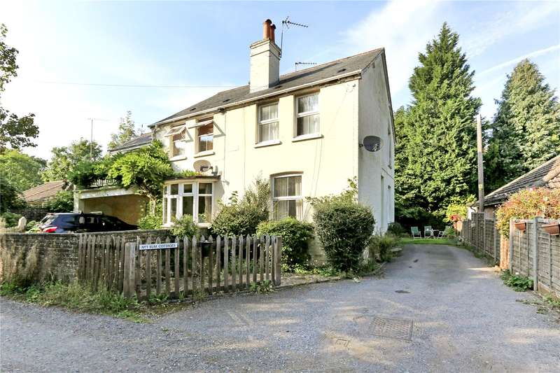2 Bedrooms Semi Detached House for sale in Elm Cottages, Oaks Lane, Mid Holmwood, Dorking, RH5