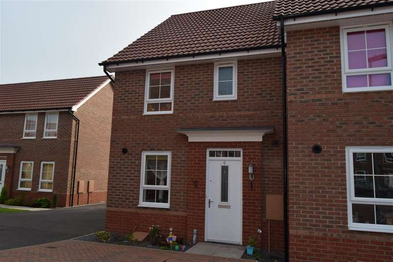 3 Bedrooms Terraced House for sale in Townhill Square, Fernwood, Newark