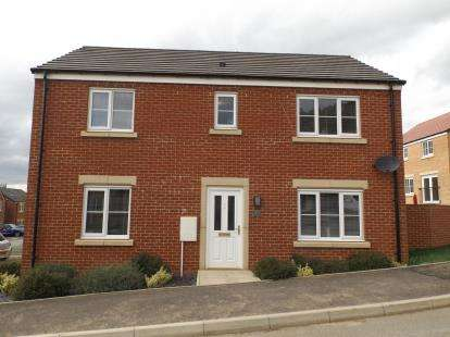 4 Bedrooms Detached House for sale in Wordsell Way, Shildon, Durham, County Durham