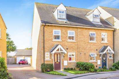 3 Bedrooms Terraced House for sale in Roman Way, Godmanchester, Huntingdon, Cambridgeshire