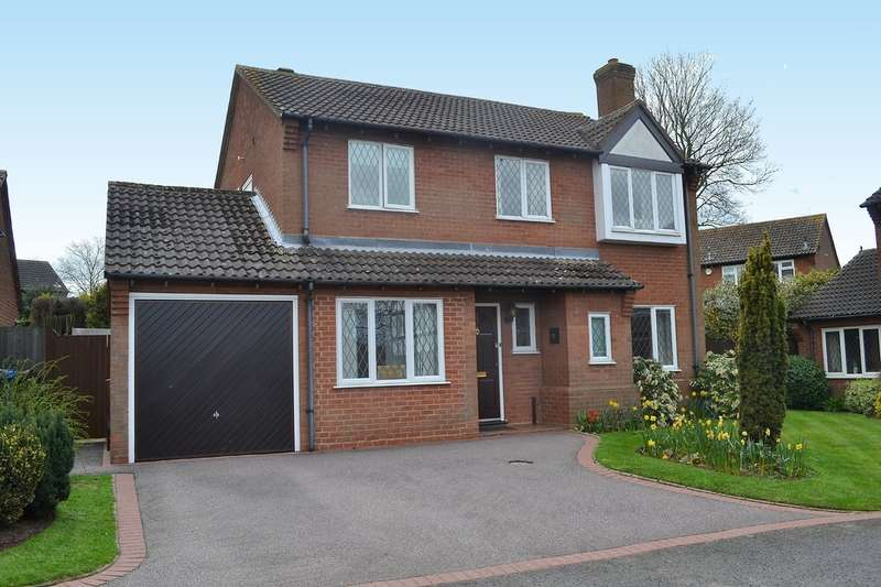 4 Bedrooms Detached House for sale in Balmoral Close, Lichfield, WS14 9SP