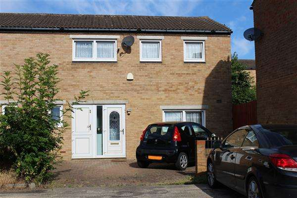 4 Bedrooms Semi Detached House for sale in Hodge Lea, Milton Keynes
