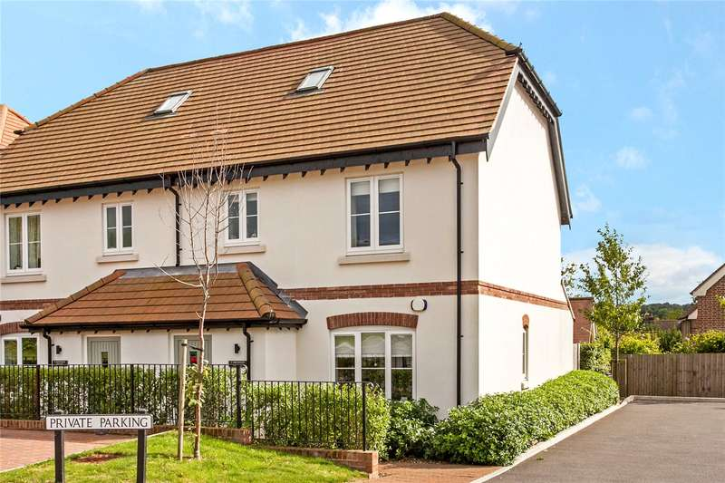4 Bedrooms Semi Detached House for sale in Northfields Cottages, Northfields, Twyford, Winchester, SO21