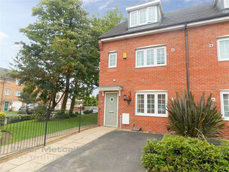 4 Bedrooms End Of Terrace House for sale in Corn Mill Drive, Farnworth, Bolton, Lancashire