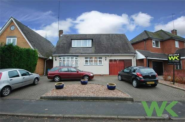 3 Bedrooms Detached Bungalow for sale in Longlands Road, HALESOWEN, West Midlands