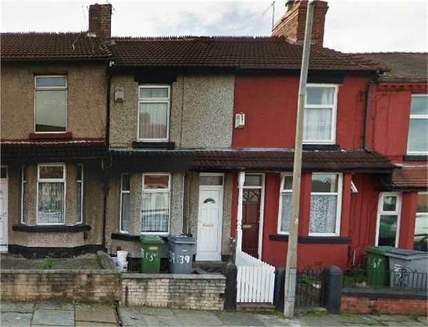 2 Bedrooms Terraced House for sale in Elmswood Road, Birkenhead, Merseyside