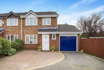 3 Bedrooms Semi Detached House for sale in Threadgold Close, Leicester