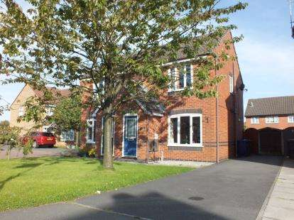 2 Bedrooms Semi Detached House for sale in Kennett Drive, Leyland, Lancashire