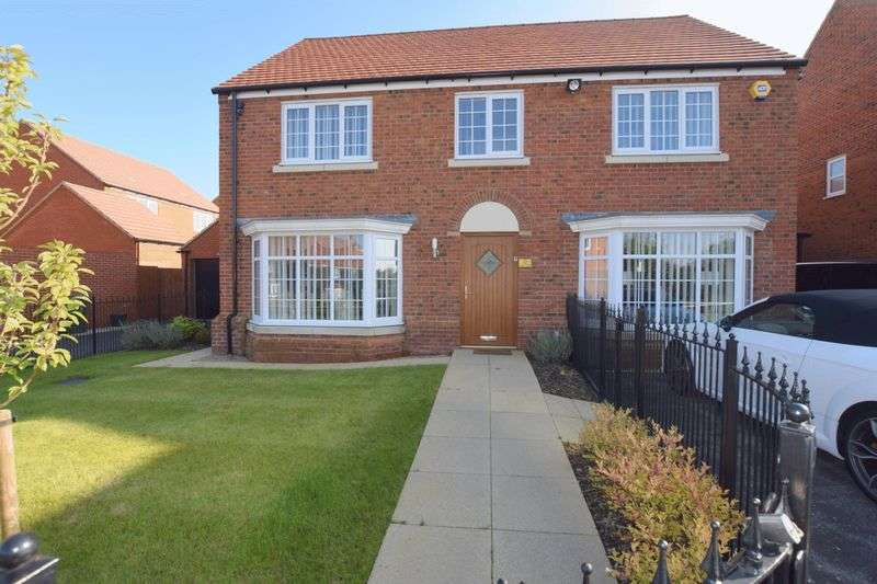 5 Bedrooms Detached House for sale in Harris Close, Newton Leys, Milton Keynes