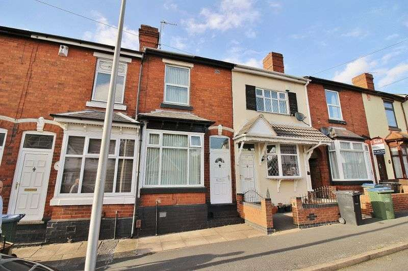 2 Bedrooms Terraced House for sale in Corporation Street, Wednesbury