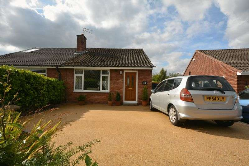 2 Bedrooms Semi Detached Bungalow for sale in Rosthernmere Road, Cheadle Hulme, Cheadle