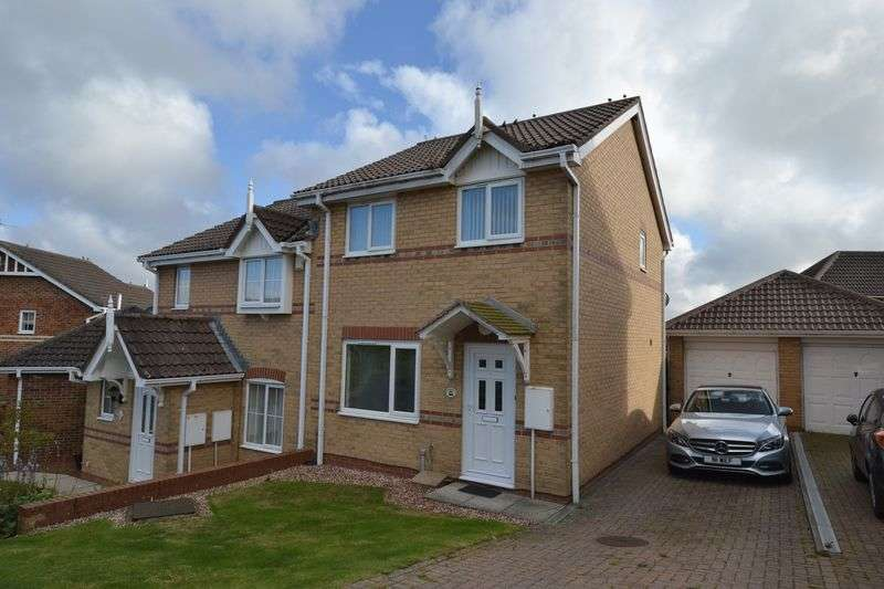 3 Bedrooms Semi Detached House for sale in Fairfields , Alnwick