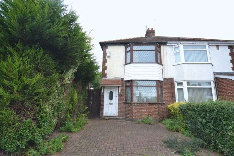 2 Bedrooms Semi Detached House for sale in YORK ROAD, CHADDESDEN