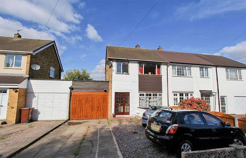 3 Bedrooms Semi Detached House for sale in Simmonds Close, Litte Bloxwich Walsall