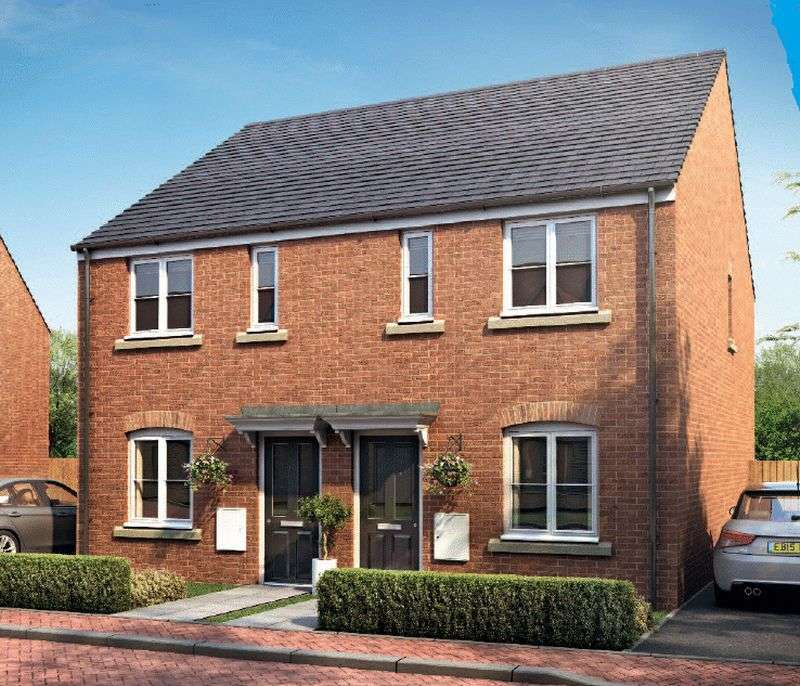 2 Bedrooms Terraced House for sale in A Brand New Development at Horsbere Mews, Longford, Gloucester GL2 9BY