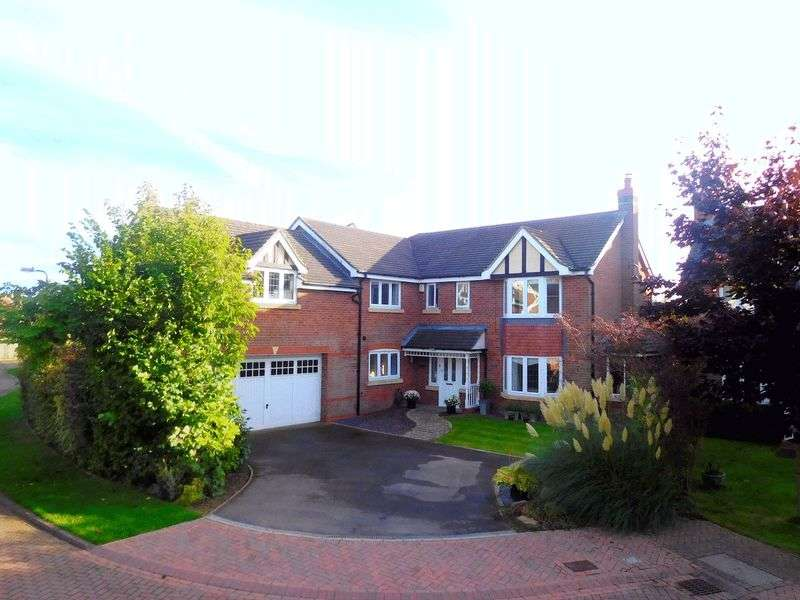 5 Bedrooms Detached House for sale in Pemberton Close, Ightfield, Whitchurch