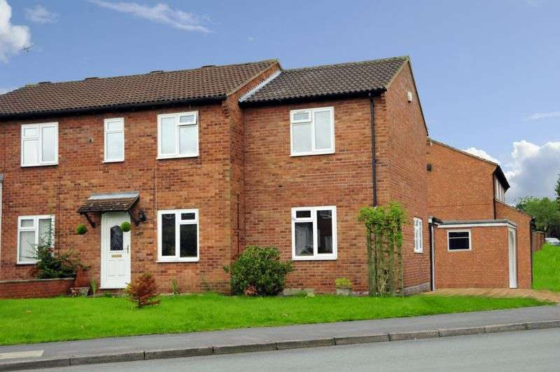 4 Bedrooms Semi Detached House for sale in Hook Farm Road, Bridgnorth