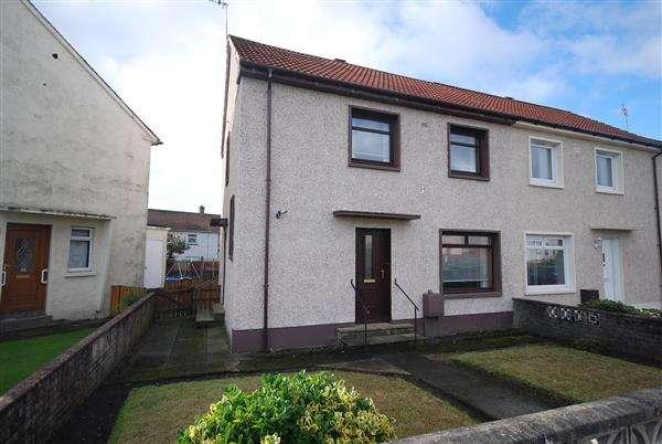 2 Bedrooms Semi Detached House for sale in Kilbrannan Avenue, Saltcoats