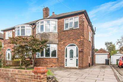 3 Bedrooms Semi Detached House for sale in Manor Avenue, Sale, Greater Manchester, Cheshire