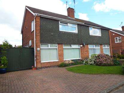 3 Bedrooms Semi Detached House for sale in Ramsbury Road, Leicester