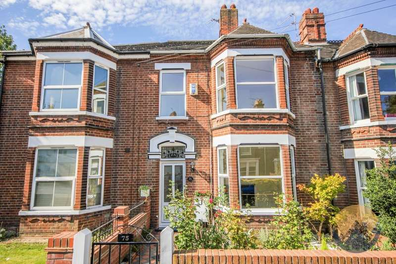 4 Bedrooms Terraced House for sale in Park Lane, Norwich, NR2