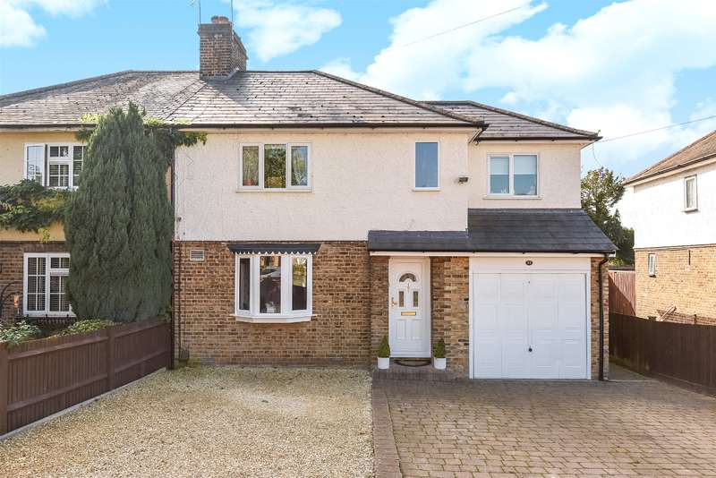 4 Bedrooms Semi Detached House for sale in Truesdale Drive, Harefield, Uxbridge, Middlesex, UB9