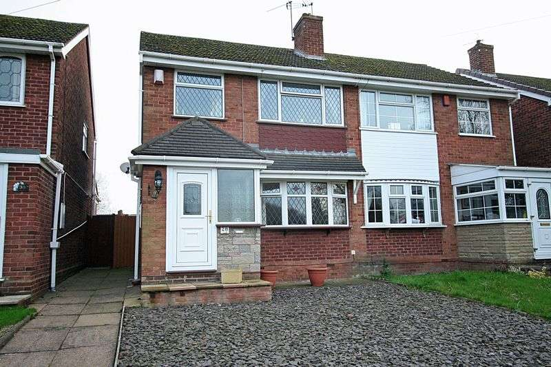 3 Bedrooms Semi Detached House for sale in WORDSLEY, Brierley Hill Road