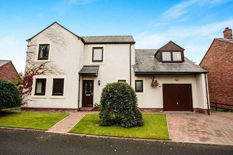 4 Bedrooms Detached House for sale in The Dell, Broadwath,Heads Nook, Brampton, CA8