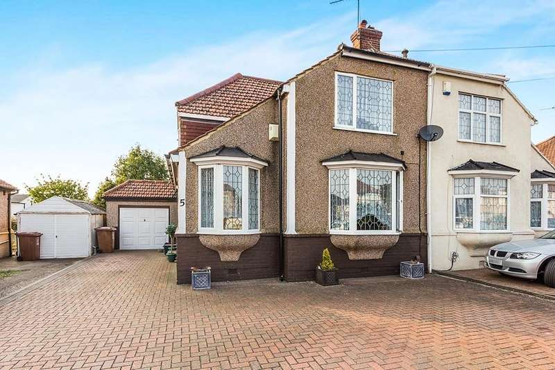 3 Bedrooms Semi Detached House for sale in Bedonwell Road, Bexleyheath, DA7