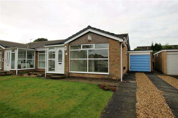 2 Bedrooms Bungalow for sale in Norwich Close, Great Lumley