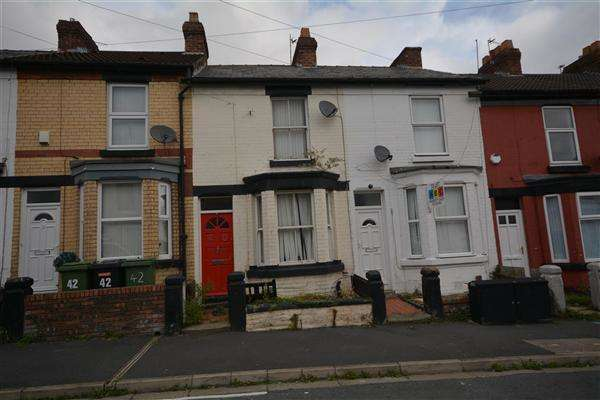 2 Bedrooms Terraced House for sale in Woodville Road, Birkenhead