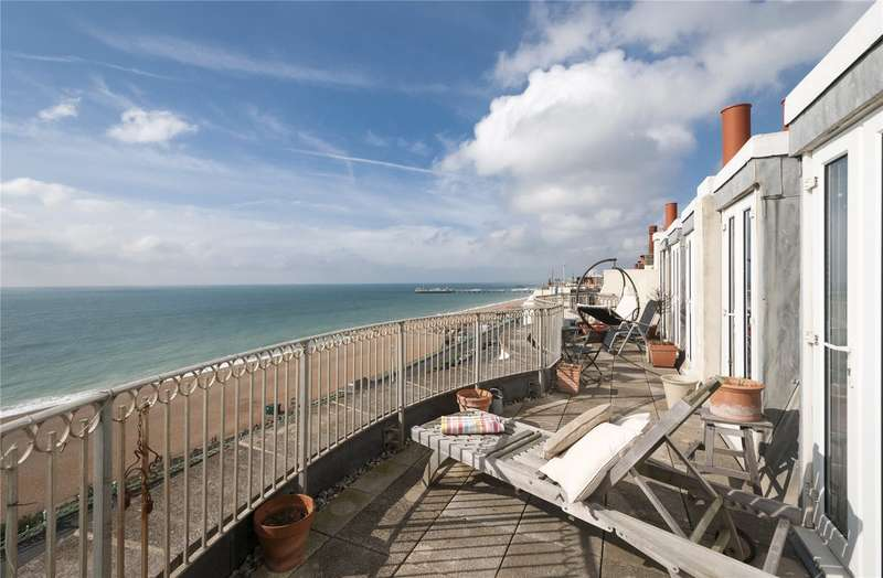 3 Bedrooms Flat for sale in Percival Mansions, Percival Terrace, Brighton, East Sussex, BN2