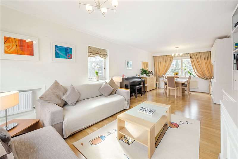 3 Bedrooms Flat for sale in Park Close, Ilchester Place, Holland Park, London, W14