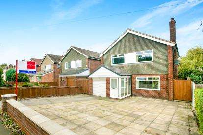 4 Bedrooms Detached House for sale in Jacksons Lane, Hazel Grove, Stockport, Greater Manchester