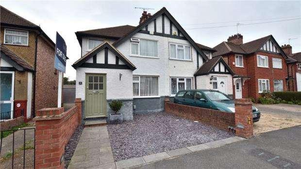 3 Bedrooms Semi Detached House for sale in Gresham Road, Hillingdon, Middlesex